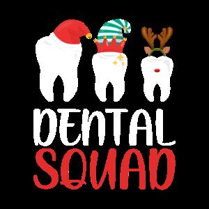 Dental Squad Funny Christmas Shirt