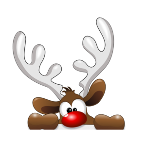 Weihnachten Rentier Santa Claus