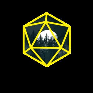 Gelb Würfel Dunkler Wald DnD