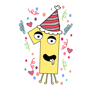 Erster Geburtstag Geschenkidee Geburtstagsshirt 1