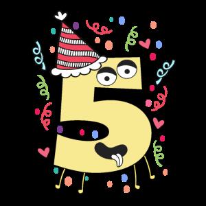 Geburtstag Party 5 Jahre alt Geschenkidee Kinder