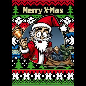 Merry X-Mas Weihnachtsmann