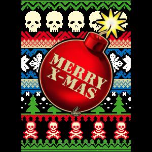 Merry X-Mas Christbaumkugel-Bombe