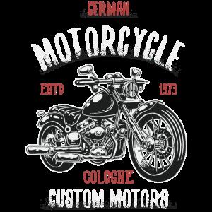 Motorcycle Cologne German Custom Motors