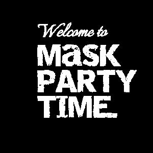 Maskenpartyzeit