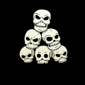 Totenschädel Totenköpfe