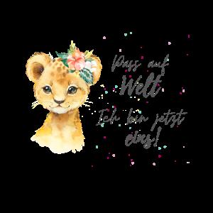 Löwenbaby 1jährige Mädchen erster Geburtstag