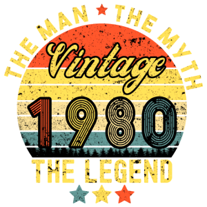 40. Geburtstag 1980