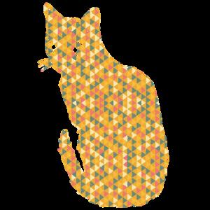 Bengal Cat Geometric Shirts