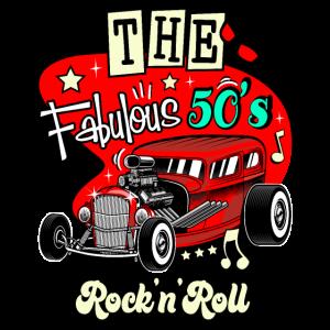 Rockabilly Vintage Rocker Rock N Roll Musik