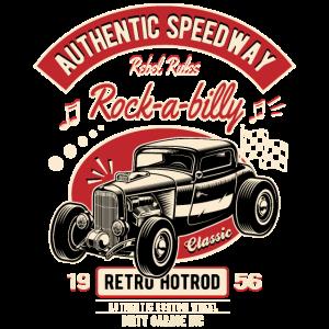 Rockabilly Oldtimer Rocker Rock N Roll