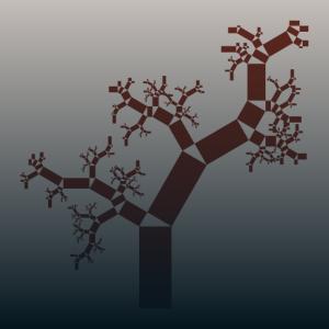 Fraktaler Pythagorasbaum