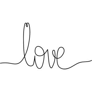 Logo Love au Trait