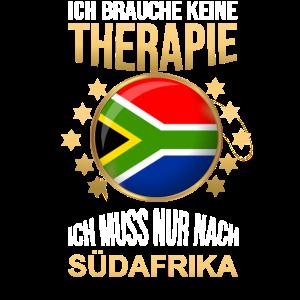 Südafrika Spruch South Africa Flagge Funny Shirt