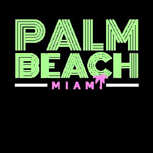 Palm Beach Florida Retro