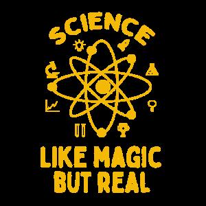 Wissenschaft Es ist wie Magie, aber echte Wissenschaft