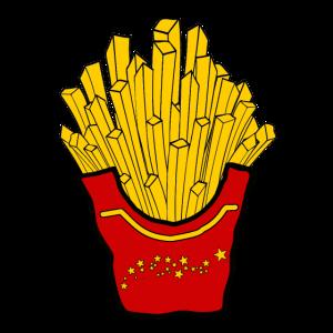 Fries Pommes Frites Fritten | Fritten Shirt