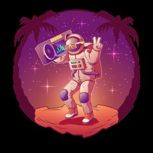 Cooler Astronaut Weltraum Raumfahrt Space
