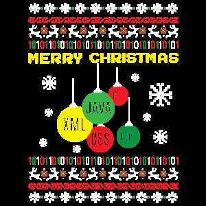 Merry Christmas IT JAva XML CSS Entwickler
