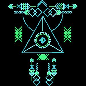 Azteken Traumfänger und Windspiel