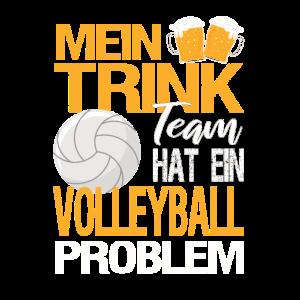 Mein Trinkteam hat ein Volleyball Problem
