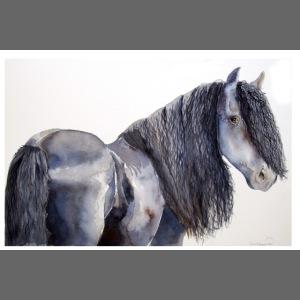 frieser horse poster