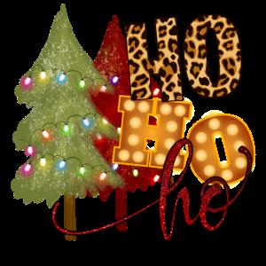 Weihnachtsbaum Ho Ho Ho