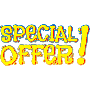 sonderangebot special offer
