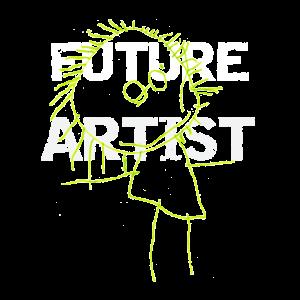 Künstler, ich werde Künstler