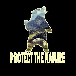 Schützt die Natur Bär