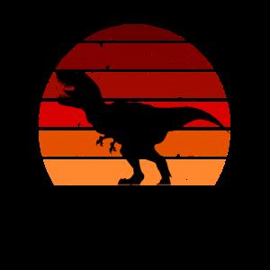 Dinosaurier Dino T-Rex Tyrannosaurus Rex Retro