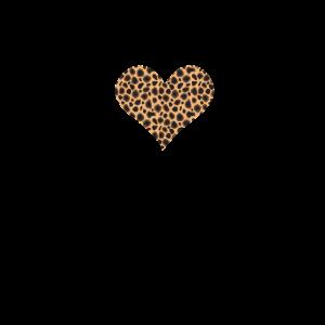 Gepard Leopard Herz mit Herzfrequenz