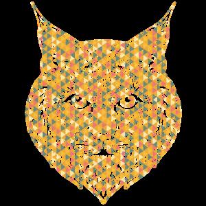Bobcat Geometric Face