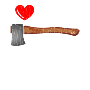 I Love Wood Funny Woodworker Gift Forest Worker