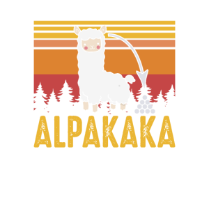 Lustiges Alpaka Alpakaka Geschenkidee