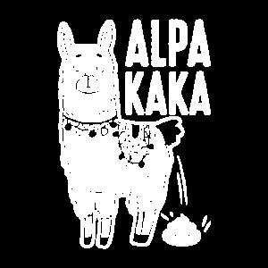 Lustiges Alpaka Wortspiel Sprüche Geschenk