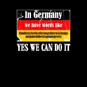 Die Deutschen und Ihre Wörter.