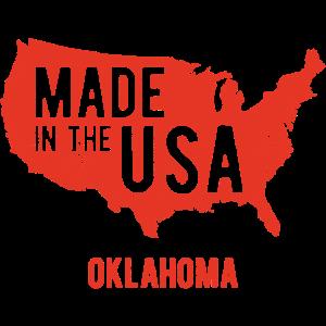 Hergestellt in den USA Oklahoma