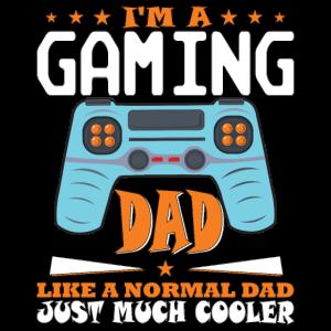 Gaming Dad Zocker Vater Spielekonsole Geschenk