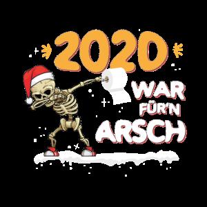Skelett Scheiß Weihnachten 2020 Anti Geschenk