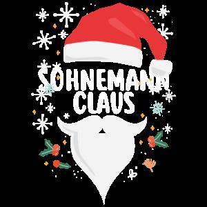Sohnemann Claus Lustiges Weihnachts-Geschenk Sohn