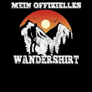 Wandererspruch Lustiger Wandern Wanderer Shirt