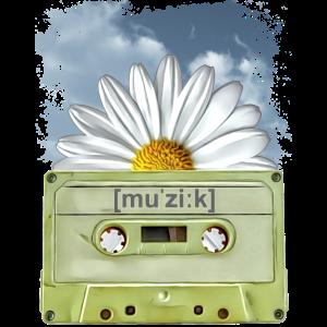 old school music tape