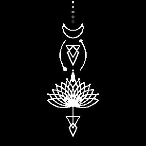 Blumen Tattoo - spirituell
