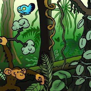 Mascarilla Jungle 1