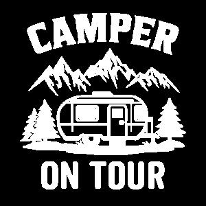 Wohnmobil auf tour campingwagen Wohnwagen
