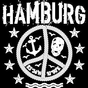 105 Hamburg Peace Anker Seil Koordinaten
