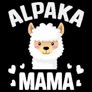Alpaka Mama Lama Geschenk