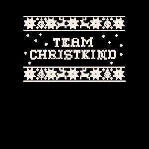 Team Christkind Ugly Shirt für Familien
