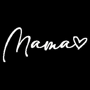 Mama Mami Mum Mummy Herz Liebe Geschenk Verkündung